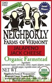 Organic Jalapeno Jack Cheese